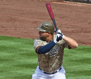 Yonder Alonso - Photo by SD Dirk