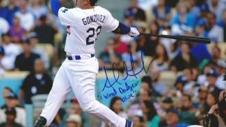"Adrian Gonzalez - ""I bleed Dodger blue"""