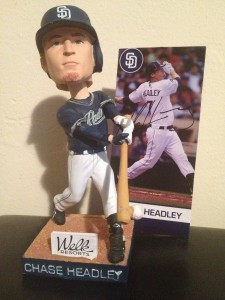 Chase Headley Bobblehead