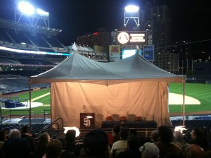 Padres Tent