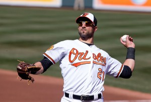 Nick Markakis - Photo by Keith Allison