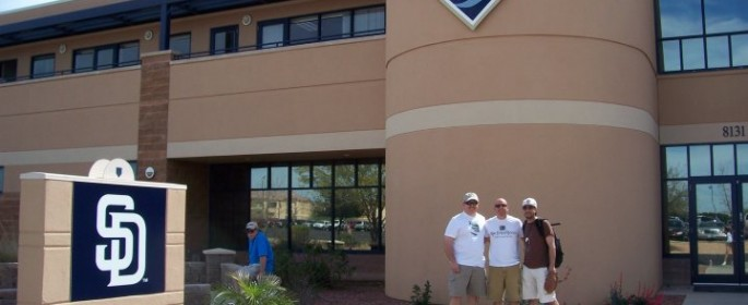 Before our tour of the Peoria Sports Complex