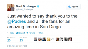 boxberger tweet