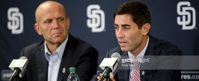 Mike Dee and AJ Preller - Picture courtesy of getty images